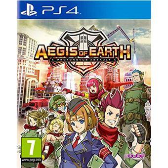 Aegis of Earth: Protonovus Assault PS4