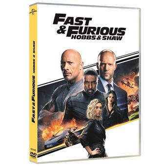 A todo gas - Fast and Furious: Hobbs and Shaw - DVD