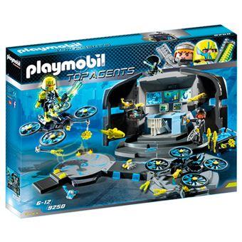 Playmobil Top Agents Centro de mando del Dr. Drone