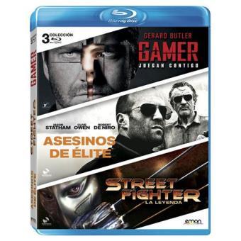 Pack Gamer + Street Fighter: La leyenda + Asesinos de élite - Blu-Ray