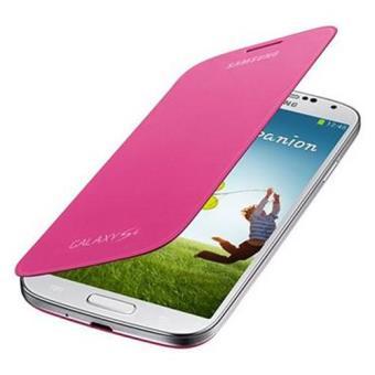 Samsung Funda Flip Cover para Galaxy S4 Rosa