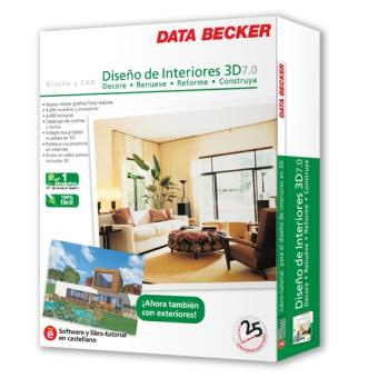 Dise o de interiores 3d 7 0 pc dvd rom los mejores for Diseno de interiores 3d gratis