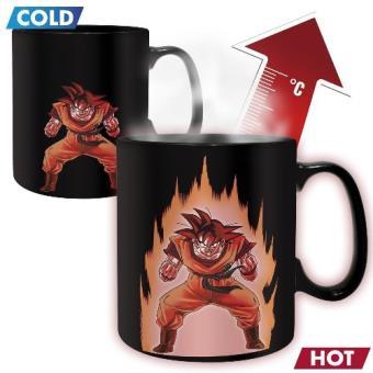 Taza termocromática Dragon Ball Goku