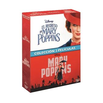 Pack Mary Poppins + El regreso de Mary Poppins - DVD