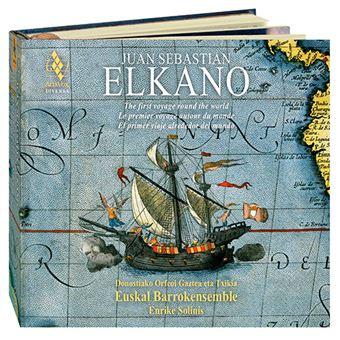 Juan Sebastian Elkano - 2 CD + libro