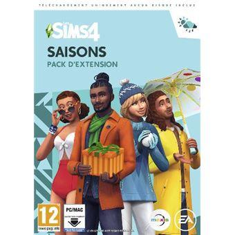 Los Sims 4 Juego + Expansión Las cuatro estaciones PC