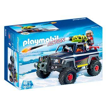Playmobil Todoterreno con piratas del hielo
