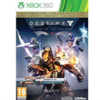 Destiny: El rey de los Poseídos Edición Legendaria XBox 360