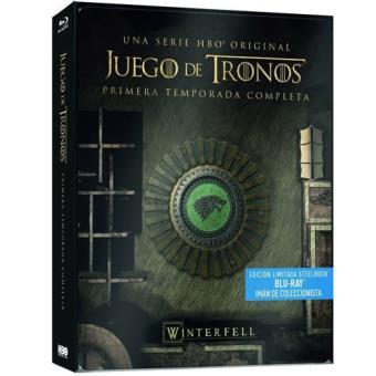 Juego de TronosJuego de tronos  Temporada 1 - Steelbook Blu-Ray
