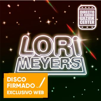 Lori Meyers. Directo en Madrid WiZink Center  - 2 CDs + DVD - Disco firmado