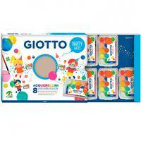 Set acuarelas Giotto Party - 8 paquetes