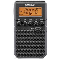 Radio Portátil Sangean DT-800 Negro