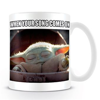 Taza Star Wars The Mandalorian - Baby Yoda When your song comes on