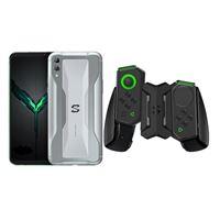 Black Shark 2 6,39'' 256GB Plata + Gamepad + Soporte + Auriculares Kit
