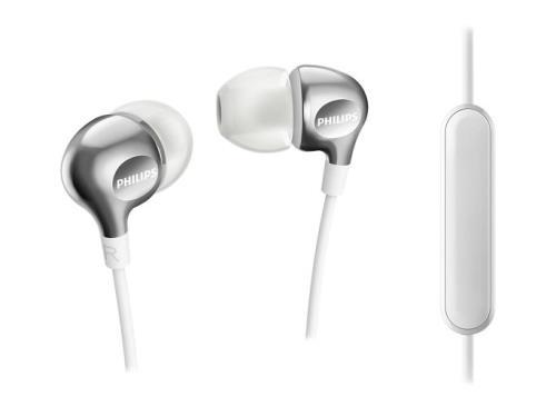 Auriculares con micrófono Philips SHE3705 Blanco