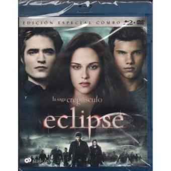 Saga Crepúsculo. Eclipse - Blu-Ray + DVD