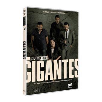 Gigantes - Temporada 2 - DVD