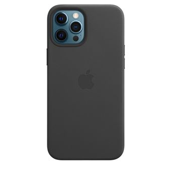 Funda de piel Apple Negro para iPhone 12 Pro Max