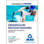 Operario ayuntamiento madrid test+p