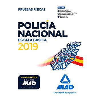 Policía Nacional Escala Básica - Pruebas físicas