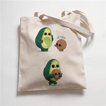Bolsa de tela Naolito Tired Avocado Premium