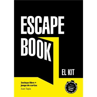 Escape book. El kit