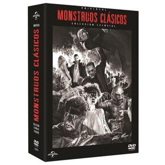 Monstruos clásicos de la Universal (9 películas) - DVD