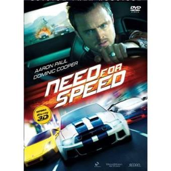 Need for Speed - Blu Ray 3D + 2D