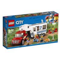 LEGO City Great Vehicles 60182 Camioneta y caravana