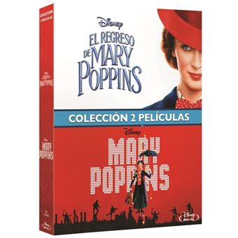 Pack Mary Poppins + El regreso de Mary Poppins - Blu-Ray