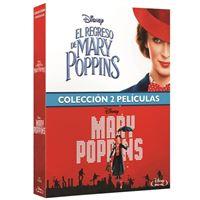 Pack Mary Poppins + El regreso de Mary Poppins - Blu-Ray