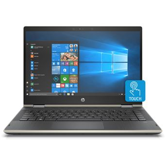 Portátil HP Pavilion x360 14-cd0015ns Oro