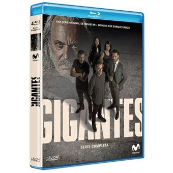 Gigantes - Serie Completa - Blu Ray