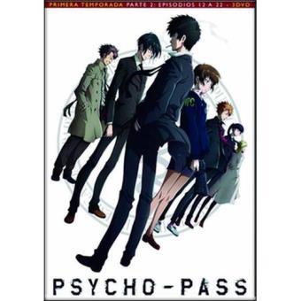 Psycho Pass - Temporada 1 Parte 2 - DVD