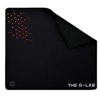 Alfombrilla gaming The G-Lab Pad Ceasium Negro