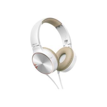 Auriculares Pioneer SE-MJ722T Blanco/Beige