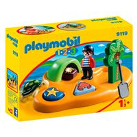 Playmobil 1.2.3 Isla Pirata