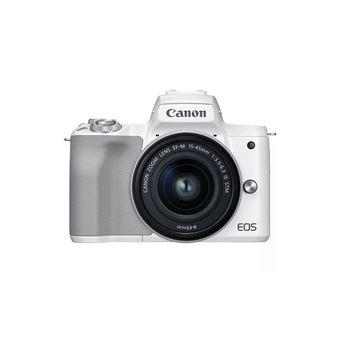 Cámara EVIL Canon EOS M50 Mark II 15-45 mm Blanco