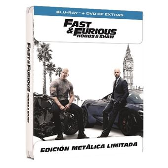 A todo gas - Fast and Furious: Hobbs and Shaw - Steelbook Blu-Ray + Blu-Ray Extras