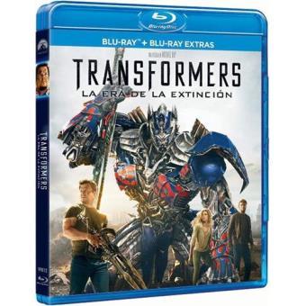 Transformers 4: La era de la extinción - Blu-Ray + Blu-Ray Extras