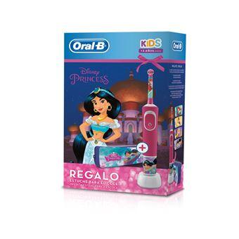 Cepillo eléctrico infantil Oral-B Princesas + Estuche