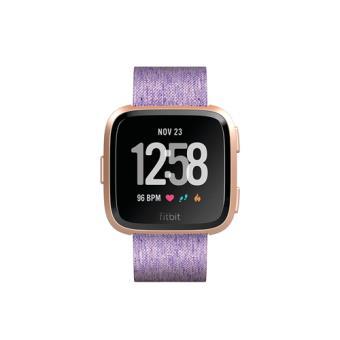 Smartwatch deportivo Fitbit Versa Edición especial Oro rosa/Lavanda