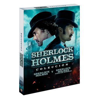 Pack Sherlock Holmes + Sherlock Holmes 2 - DVD