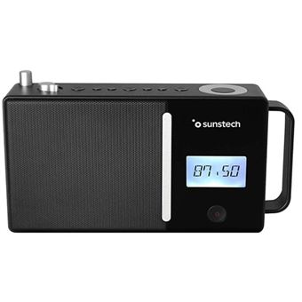 Radio Portátil Bluetooth Sunstech RPDS500 Negro