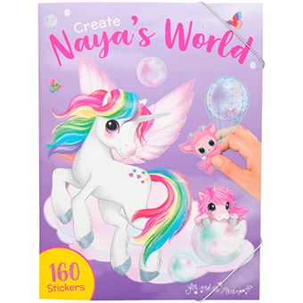 Cuaderno Create Your Ylvi & The Minimoomis Nayas World