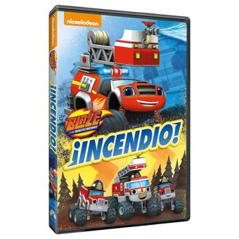 Blaze y los Monster Machines 4 ¡Incendio! - DVD