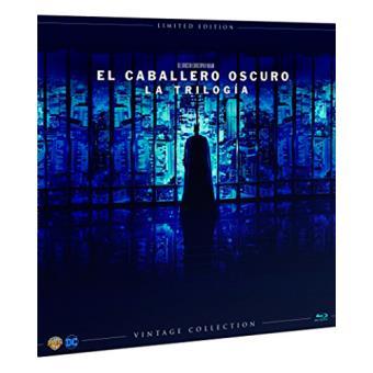 Pack El Caballero Oscuro. La trilogía - Blu-Ray - Ed Limitada Vinilo