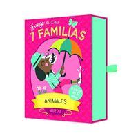 Juego de  cartas las 7 familias: animales