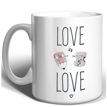 Taza Miss Borderlike Love is Love - Lapiz y sacapuntas
