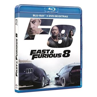 A todo gas - Fast and Furious 8 - Blu-Ray + DVD Extras